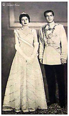 Shah Mohamed Reza Pahlavi & Empress Soraya (She just passed away in July 2013)