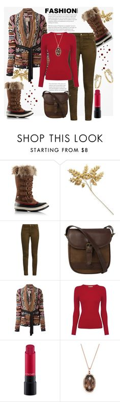 """Fashion Trend: Sorel Snow Boots This Winter"" by helenaymangual ❤ liked on Polyvore featuring SOREL, Bloomingdale's, French Connection, DUBARRY, Laneus, Oasis and MAC Cosmetics"