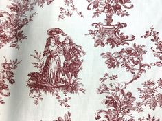 Victorian Cotton Fabric, Fabric by Meter, Fabric by Yard, Provence Vintage Victorian Linen, Landscape Design Fabric Clarke And Clarke Fabric, Retro Fabric, Craft Projects For Kids, Gorgeous Fabrics, Christmas Wrapping, Soft Furnishings, Provence, Landscape Design, Fabric Design