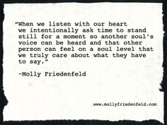 Quotes by Molly Friedenfeld - www.mollyfriedenfeld.com