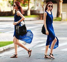 861659f479 2013 Summer Dresses New Fashion Women Chiffon Dress Boho Bohemian Long Maxi  Dress Retail  amp
