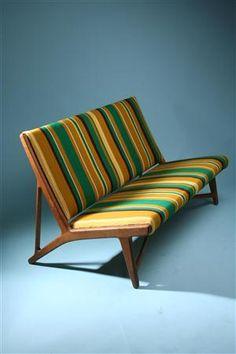 Hans Wegner love seat -