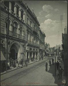1902 - Rua 15 de Novembro, na região da Sé.