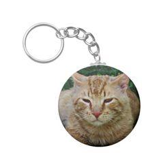 My Cat Rudy Keychain