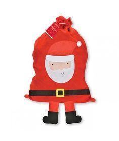Large Santa with Hanging Legs Christmas Sack - x - Christmas Stockings & Gift Bags (each) Felt Christmas Stockings, Santa Christmas, Christmas Countdown, Christmas Shopping, Personalised Christmas Presents, Elf, Santa Sack, Style Deco, Sack Bag