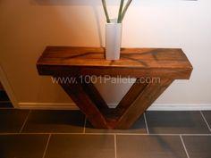 Sofa Table | 1001 Pallets