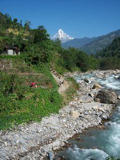 near Pokhara, Nepal