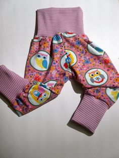 Hosen - *Eulenkreis* eine Hose, die mitwächst - ein Designerstück von traumgenaeht bei DaWanda