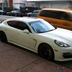 Porsche flat white