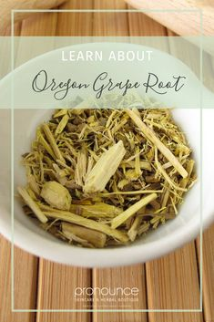 Learn all about Oregon Grape Root. Find out the benefits of this great herb and the many ways you can use it! - Pronounce Skincare & Herbal Boutique #pronounceskincare #herbalremedies #herbalism