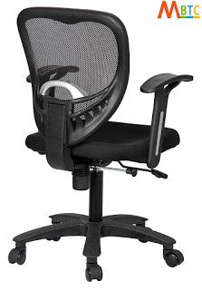 Rating : 3.3 out of 5  Reviews : More than 24 reviews about it.  The reviews and rating indicate it is a good one  It's approximate price is Rs. 3,400 Best Computer Chairs, Student Chair, Mesh Chair, Home Office Chairs, Study Office, In The Heights, India, Goa India, Indie