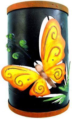 butterfly wallsconce