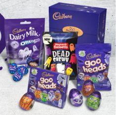 FREE Cadbury Halloween Party Packs | Gratisfaction UK Free Samples Uk, Freebies Uk, Free Competitions, Uk Deals, Slumber Parties, Party Packs, Halloween Party, Lunch Box, Website