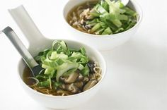 Chinese vegetable broth with noodles Ingredients : 3 tsp vegetable ...