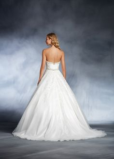 Cinderella inspired wedding dress. Click on the image to see our full gallery of Disney inspired wedding dresses.