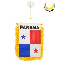 Mini Banner PANAMA by flagsandsouvenirs. $2.50. MINI BANNERS PAINTED ON BOTH SIDES. SIZE: 3 inches x 5 inch (aprox) BANDERINES, PINTADOS POR LAS DOS CARAS TAMAÑO 8 cm x 12 cm (aproximado) WHOLESALE PRICES AVAILABLE FOR MORE INFOMATION: CALL : 305 264-3417