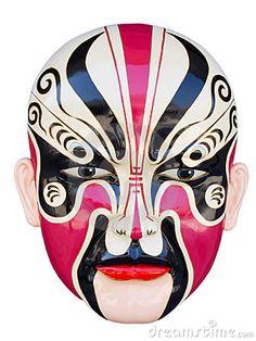 photo of chinese opera mask - Google Search