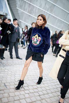 Paris Fashion Week Street Style Photos Spring 2016 | WWD