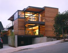 Grant Mudford picture of the LivingHome, Santa Monica.  Designed by Ray Kappe, FAIA.  First home ever certified LEED Platinum.