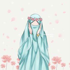 I love hijab . Hipster Drawings, Cute Drawings, Drawing Sketches, Muslim Girls, Muslim Women, Deviantart Drawings, Hijab Drawing, Islamic Cartoon, Hijab Cartoon