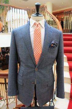 Our custom Bespoke Made to Measure Jackets. Book an appointment now to create your very own unique Bespoke suit at http://www.savillemenswear.ie/book-appointment/ #MadeToMeasure #BespokeTailoring #MensFashion #MensStyle #MaleFashion #MaleStyle
