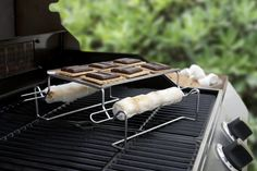 Yes, there's actually a Smores Smoking Rack and it's badass. Here you go.