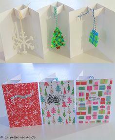 La petite vie de Ci Perles hama Hama beads Perles à repasser Christmas Noël Cartes de voeux