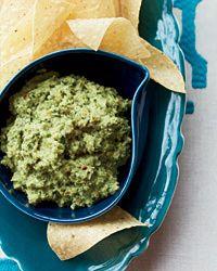 Mayan Pumpkin-Seed Dip Recipe on Food & Wine   Love pumpkin seeds, this should be good!