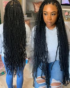 Schedule your appointment online Pooka 🦄 UNI Box Braids Hairstyles For Black Women, Braids Hairstyles Pictures, Faux Locs Hairstyles, Twist Braid Hairstyles, Black Girl Braids, African Braids Hairstyles, Baddie Hairstyles, Braids For Black Hair, My Hairstyle