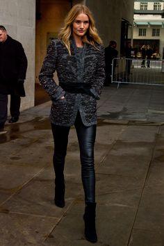 Rosie Huntington Whiteley Street Style | Harper's Bazaar