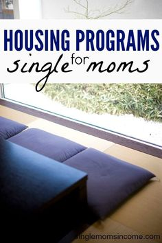 Life as a single mom is tough enough as is. If you're struggling to afford a place to live here's some government assistance housing help for single moms. http://singlemomsincome.com/housing-help-for-single-moms-part-1-government-assistance/ Personal Finance tips