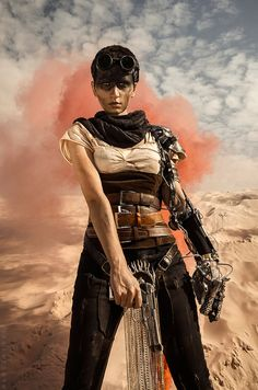 Imperator Furiosa- Mad Max: Fury Road by love-squad on DeviantArt