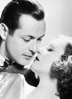 Robert Montgomery & Tallulah Bankhead from Faithless (1932)