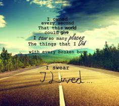 I Lived #OneRepublic lyrics