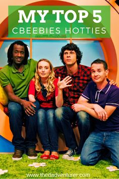 Yes, this is a VERY shallow post about my top 5 hotties on CBeebies. As a stay-at-home dad, I spend a lot of my time watching children's TV, so it's only natural for my mind to wander occasionally...Click through to read my list.