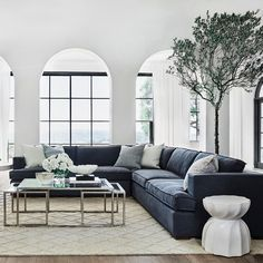 """Coco Republic on Instagram: """"Comfortable lounging for the sophisticated home. The Cannes Modular Sofa is available in an extensive range of upholstery options.…"""""""