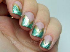 Lissa's Polish Addiction: Jasmine - Disney Princess Nail Art Challenge - Day 1