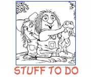Official Website of Little Critter by Mercer Mayer: Really great Little Critter Coloring Pages, Little Critter Story Videos, etc.