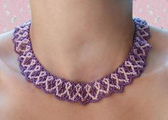 FREE pattern for beaded necklace Vilma | Beads Magic