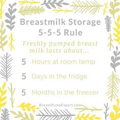 How long can breast milk sit out? How long does it last in the fridge or freezer? The rule answers all of your breast milk storage questions. Boost Milk Supply, Breastmilk Storage, Storing Breastmilk In Freezer, Formula Milk, Breastfeeding And Pumping, Breastfeeding Storage, Lactation Consultant, New Baby Products, Breast Feeding