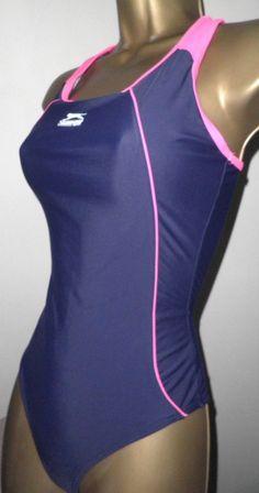ee8a6b5e59829 SEXY LADIES SLAZENGER BLUE MIX RACERBACK SWIMSUIT SIZE 10  fashion  clothing   shoes  accessories  womensclothing  swimwear (ebay link)