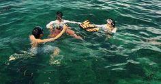 Đưa học viên đi du lịch biển