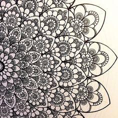 #мандала #графика #орнамент #узор #graphic #art #акварель … | Flickr