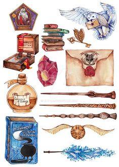 23 Ideas tattoo harry potter hogwarts tat for 2019 Fanart Harry Potter, Harry Potter Tattoos, Images Harry Potter, Arte Do Harry Potter, Harry Potter Stickers, Theme Harry Potter, Harry Potter Drawings, Harry Potter Wallpaper, Harry Potter Memes