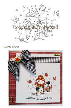 Digi Stamp - Seeds and Greetings