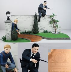 Aurora Model Build Up 1966 MAN FROM UNCLE Set Illya Napolean