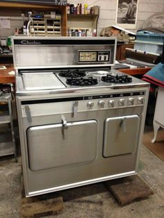 Chambers Model D. In Stainless. StovesKitchen ...