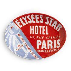 Voyage Hotel Paris Tray