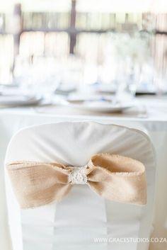 #Hessian #chairs #wedding #venue
