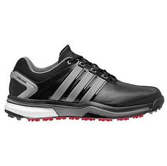 fe95f3ac7a2 Adidas Mens Adipower Boost Golf Shoes Q46753-Black Iron Metallic-Waterproof  New Adidas